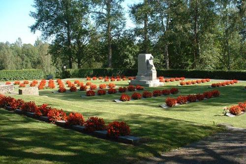 Muistojen hautausmaa ja Jämsän sankarihautausmaa